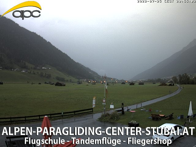 Stubai Webcam Neustift Elfer Landeplatz